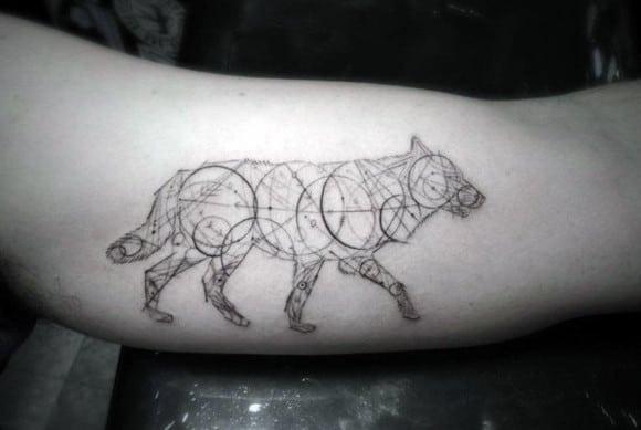 Wolf Head Tattoos For Men