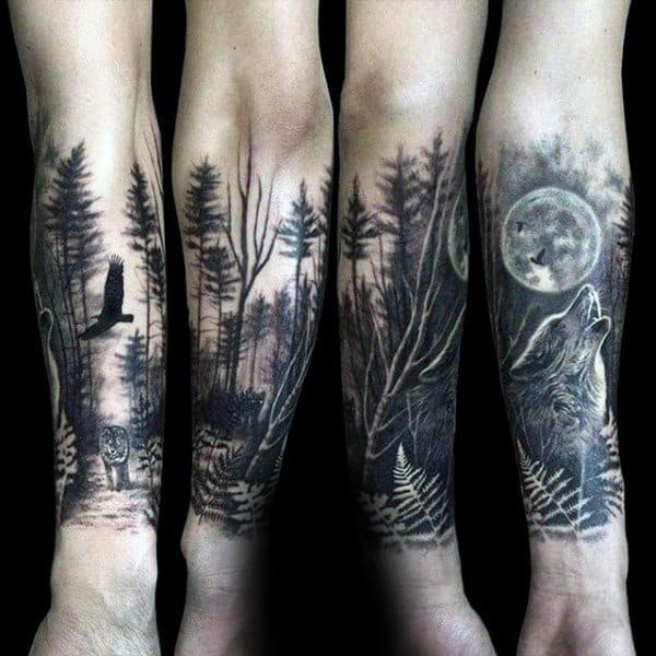 forest tattoo 5