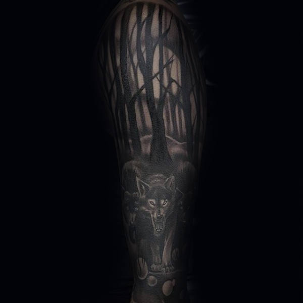 fc9f42aa6965d 75 Tree Sleeve Tattoo Designs For Men - Ink Ideas With Branches