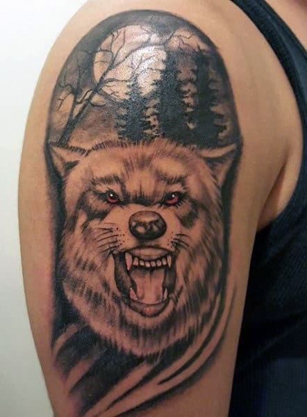 Wolf Tattoos For Men