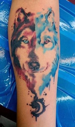 Wolfs Tattoo For Men