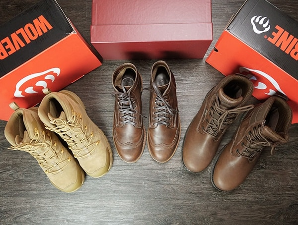 Wolverine Boots Collection Feature