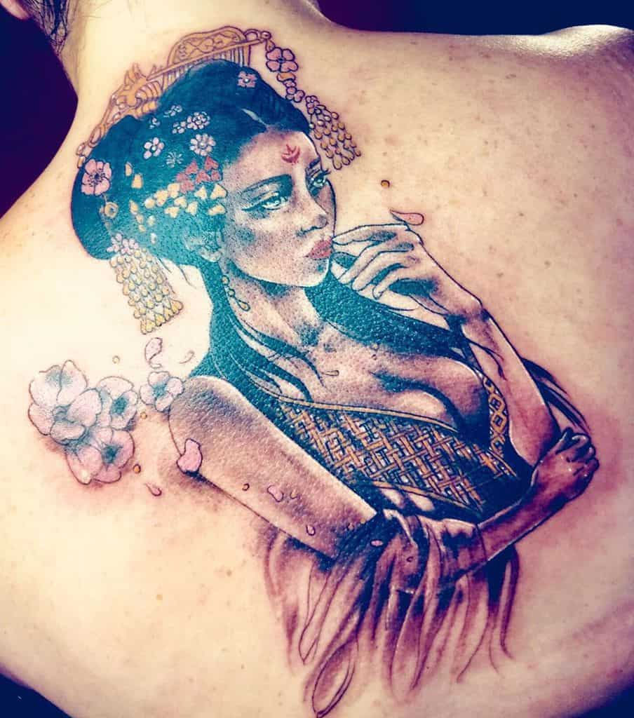 Wonderful Geisha Tattoo