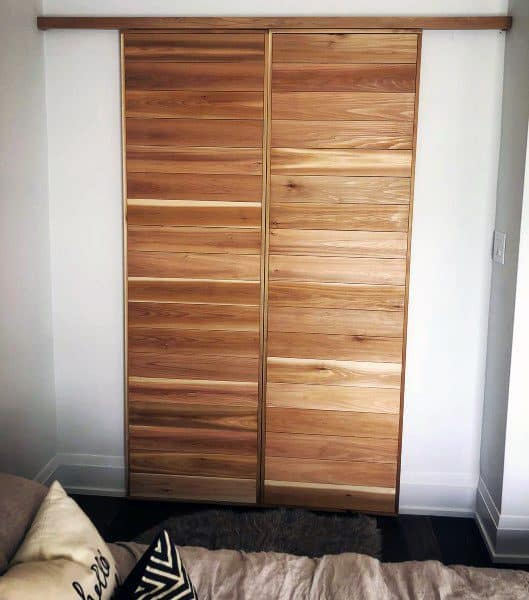 Wood Alternative Closet Door Ideas