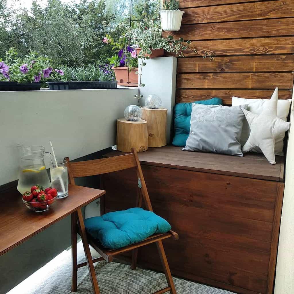 wood apartment patio ideas ewelinawalesa