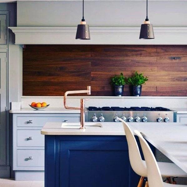 Wood Backsplash Design Inspiration