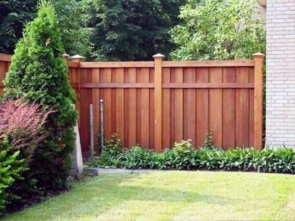 top   privacy fence ideas shielded backyard designs