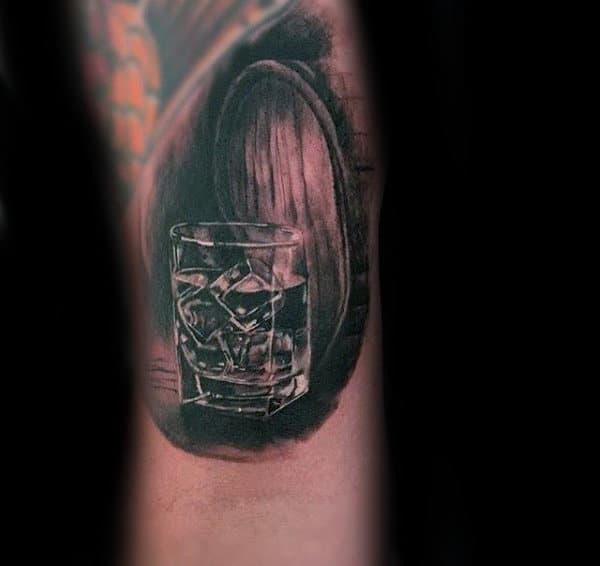 60 Jack Daniels Tattoo Designs For Men - Whiskey Ink Ideas