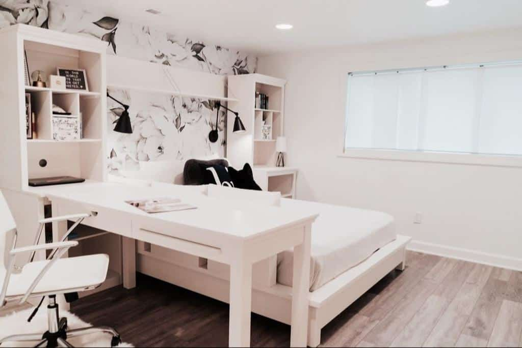 wood basement floor ideas edenandgraydesignbuild