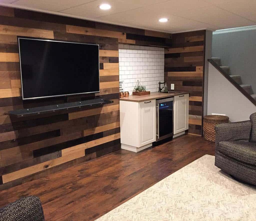 wood basement wall ideas loveyourroom