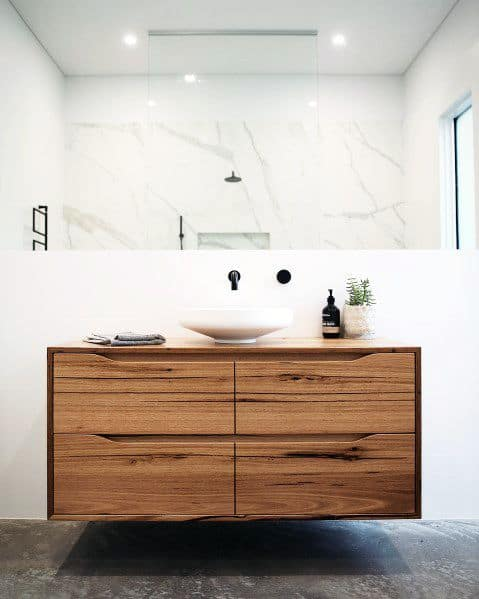 Wood Bathroom Vanity Ideas