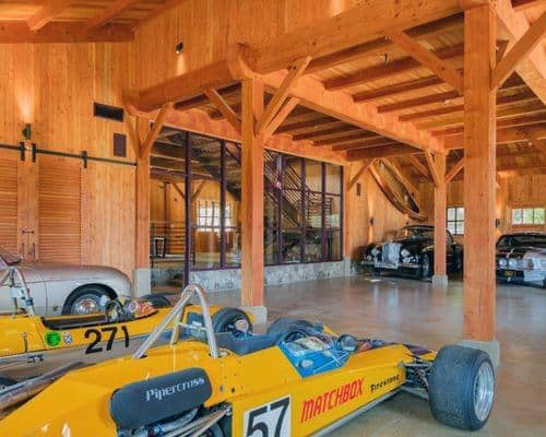 Wood Beam Garage Ceiling Ideas