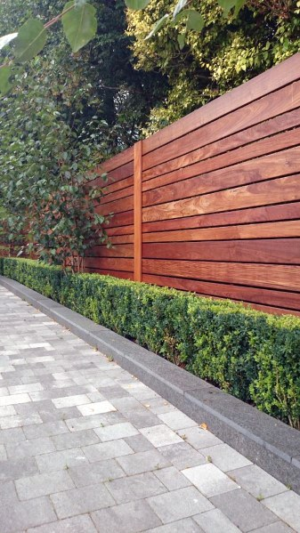 Wood Board Backyard Ideas For Privacy Fence