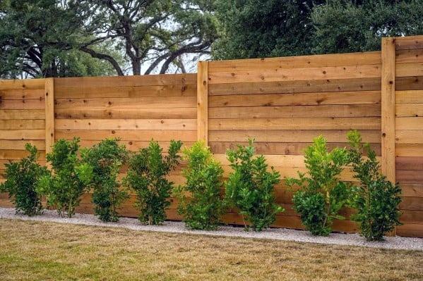 Wood Board Ideas For Privacy Fence Backyard