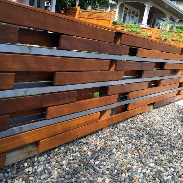 Wood Boards Exterior Ideas Modern Fence