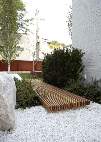 Wood Boards Modern Walkway Ideas