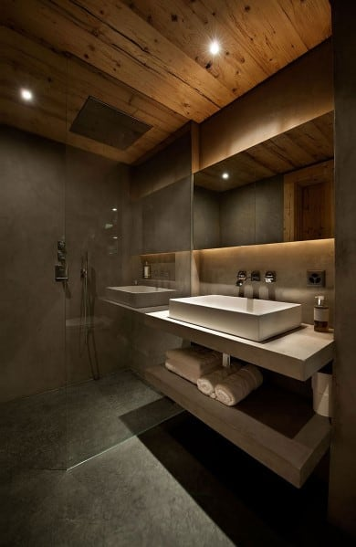 top 60 best modern bathroom design ideas for men next luxury. Black Bedroom Furniture Sets. Home Design Ideas