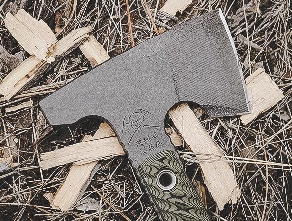 Wood Chopping Rmj Tactical Jenny Wren Tomahawk Review
