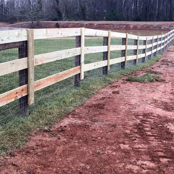Wood Cool Dog Fence