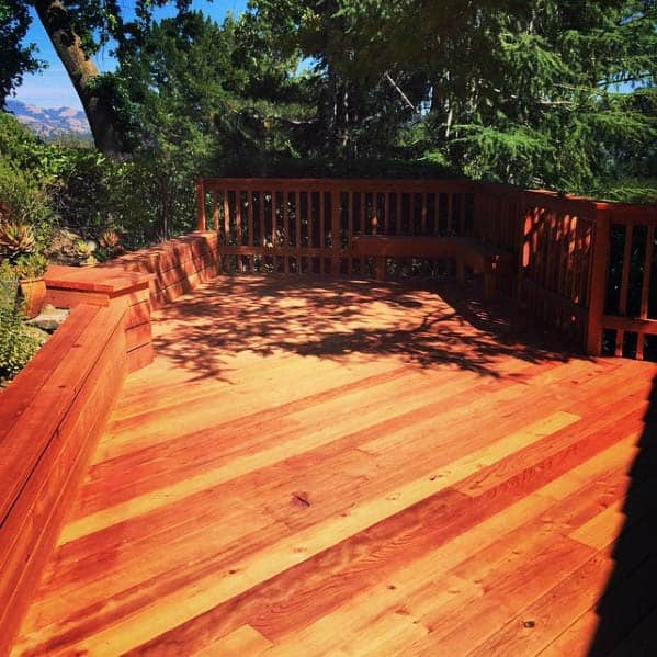 Wood Deck Bench Spectacular Ideas