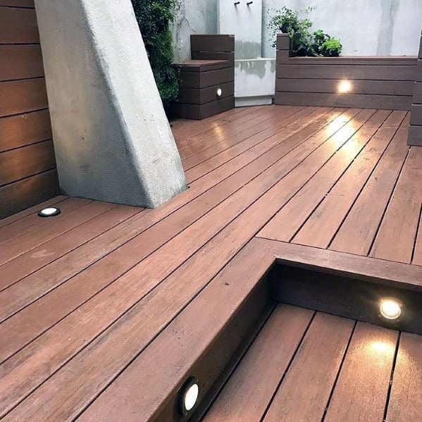 Wood Deck Lighting Exterior Ideas