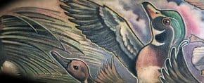 30 Wood Duck Tattoo Designs For Men – Carolina Ink Ideas