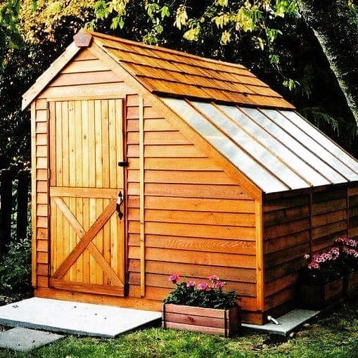 Wood Exterior Designs Backyard Shed