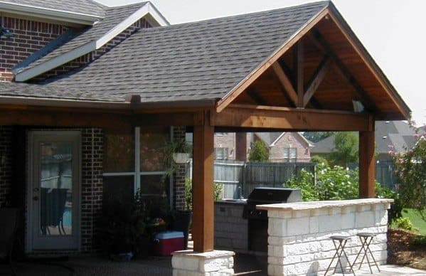 Wood Exterior Designs Patio Roofing