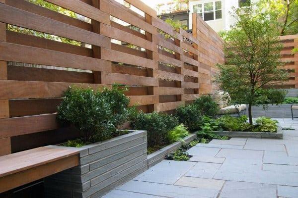 Wood Fence Ideas For Backyard