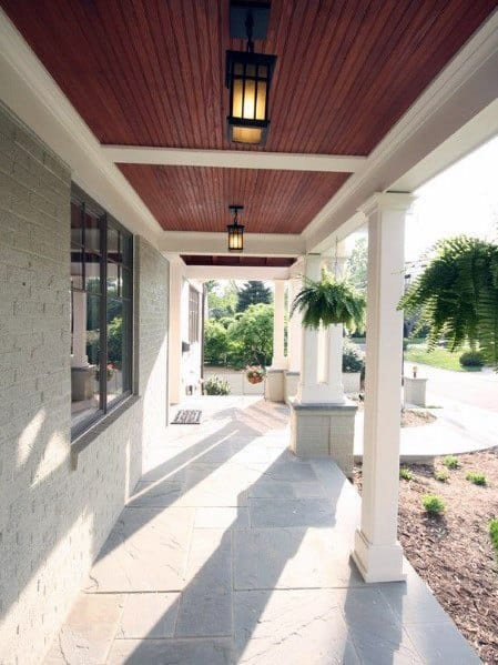 Wood Finish Ideas For Porch Ceilings