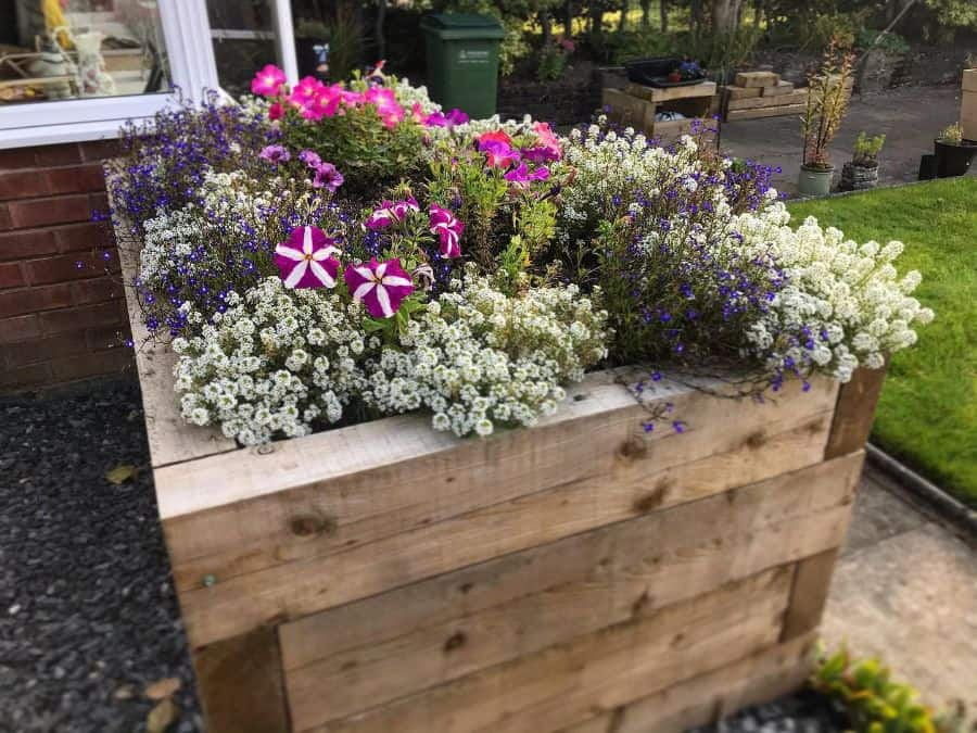 wood flower bed ideas sampearsongardenprojects