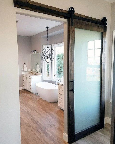 barn door ideas for bathroom top 60 best sliding interior barn door ideas interior 22953