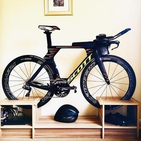 Wood Furniture Holder Bicycle Storage Ideas