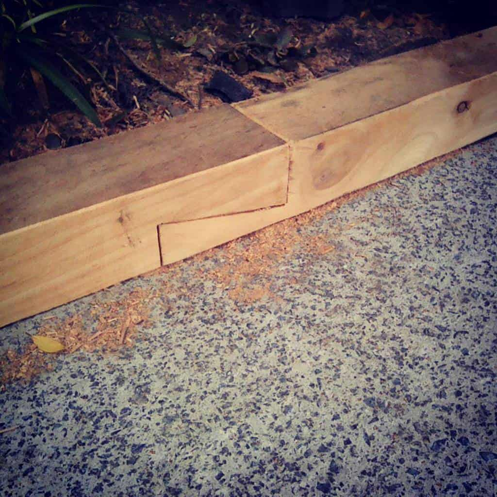 wood garden edging ideas yardcorelandscapes
