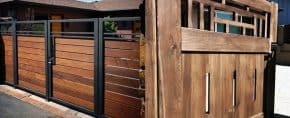 Top 40 Best Wooden Gate Ideas – Front, Side And Backyard Designs
