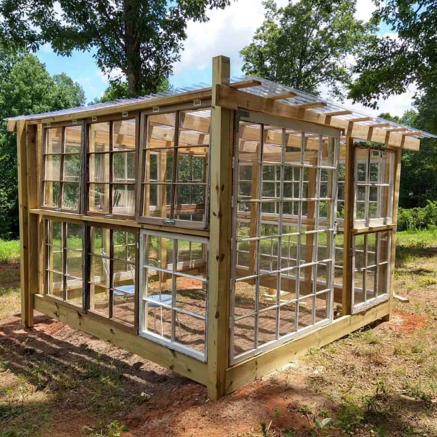 wood greenhouse ideas lfcfarms