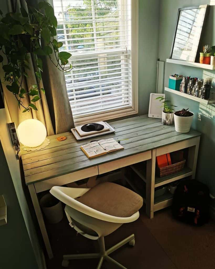 wood home office desk ideas littlegreenarrows