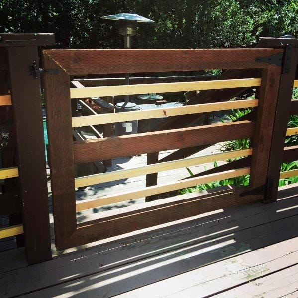 Wood Idea Inspiration Deck Gate Designs