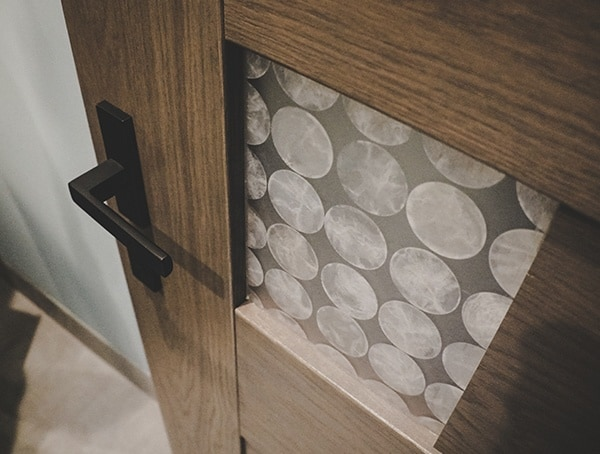 Wood Interior Door With Glass Pattern Panels Las Vegas Nevada 2019 New American Home