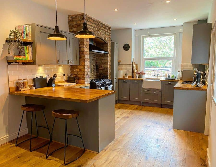 wood kitchen bar ideas didsburyterrace