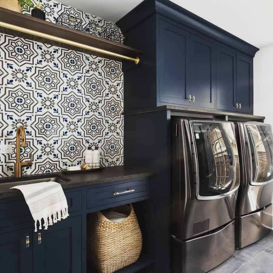 wood laundry room cabinet ideas plainandposh