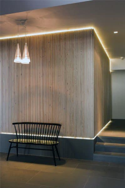 Wood Led Walls Interior Ideas Ultra Modern Home Designs