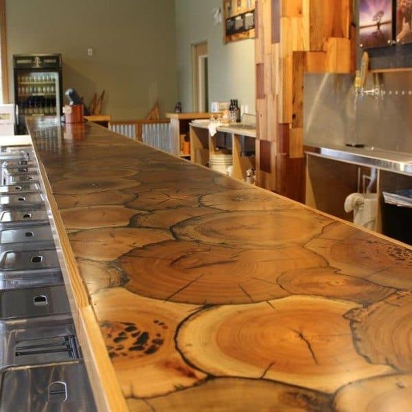 Top 60 Best Bar Top Ideas   Unique Countertop Designs
