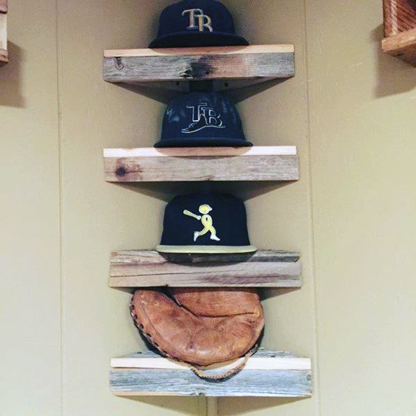 Wood Log Shelves Diy Man Cave Ideas