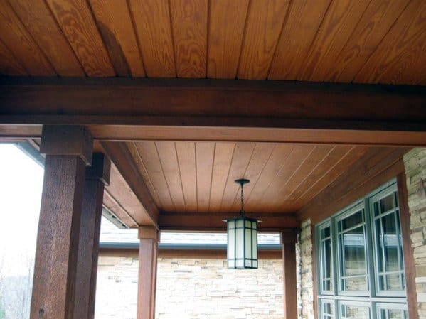 Wood Outdoor Ideas For Porch Ceiling