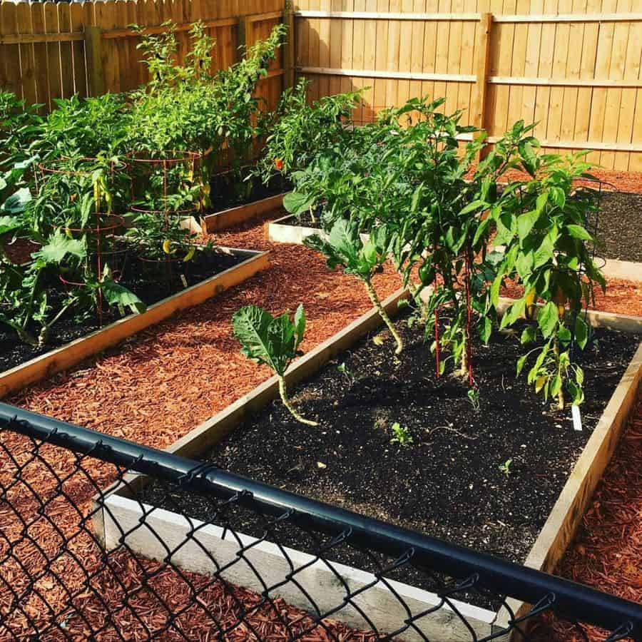 wood pallet raised garden bed ideas dellamarielevi