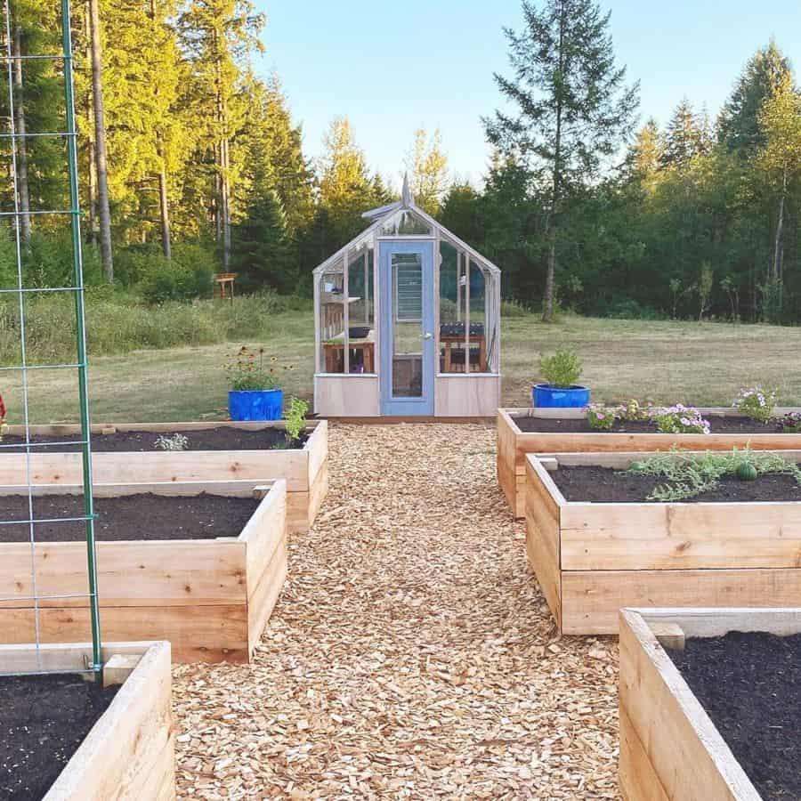 wood pallet raised garden bed ideas laurasediblegarden