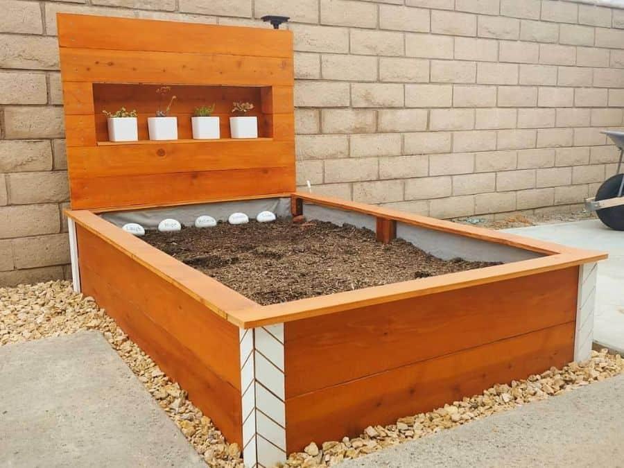wood pallet raised garden bed ideas madebydanger
