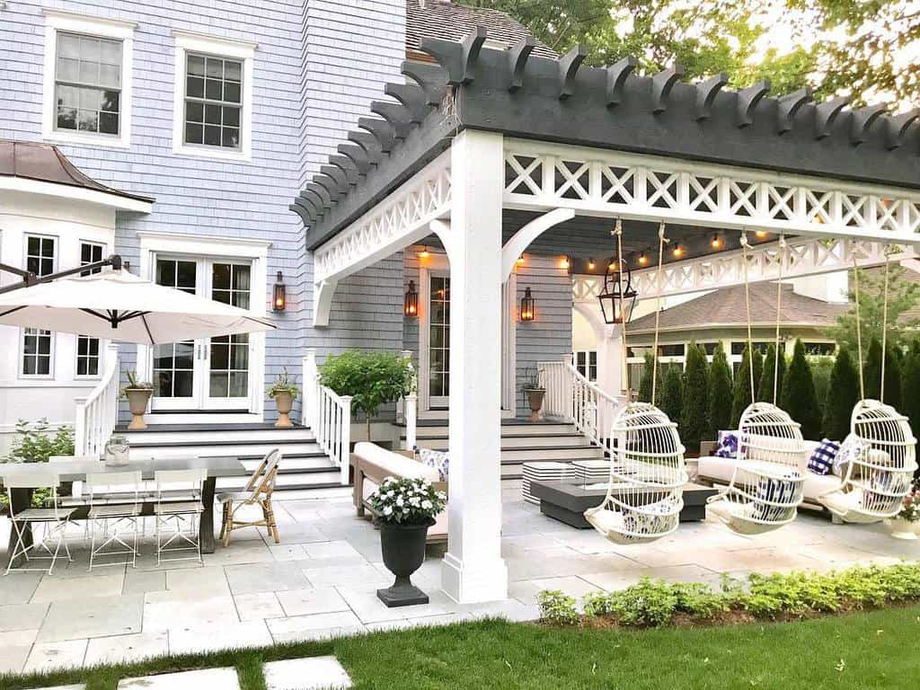 wood patio awning ideas stephmusur