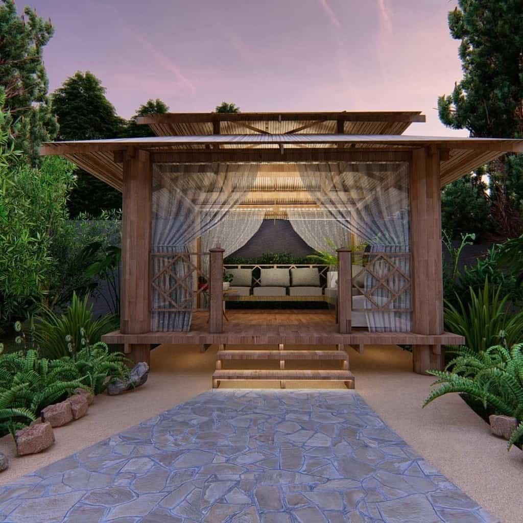 wood patio deck ideas dahlia_design.studio